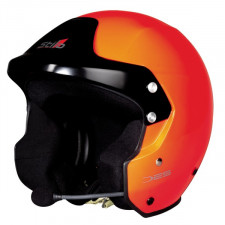 Casque Stilo TROPHY DES Fibre Orange Rally SA15
