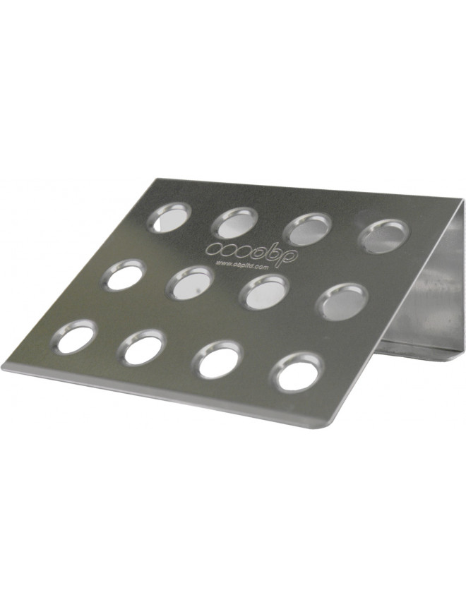 OBP Co-driver Footrest in Alu ECO 250X200mm