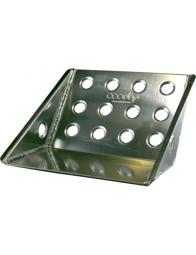 OBP ECO Small Co-driver Footrest Tray in Alu