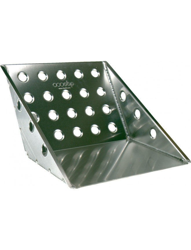 OBP ECO Large Co-driver Footrest Tray in Alu