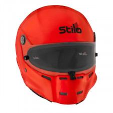 Stilo ST5F Orange Fiber Helmet Hans and Intercom SA15