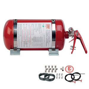 OMP Automatic Mechanic Steel Fire extinguisher 4.25 Ecolife special F2000