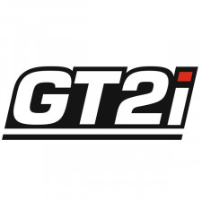 Sticker GT2i Contour Blanc T.M 115X46mm