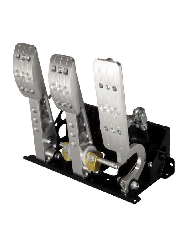 OBP Pedal box 3 pedals 5:1 without Master Cylinder