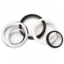 VDO Flat Bezel 52mm Chrome-plated