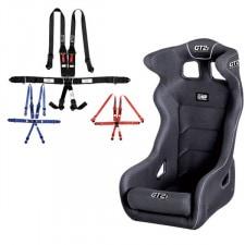 "GT2i Pro FIA Bucket Seat + GT2i Race Harness 6 pts 2""/3"" HANS Pack"