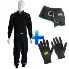 GT2I Mechanic Suit + OMP Gloves + OMP Knee Pad Pack