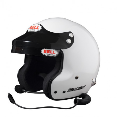 Casque BELL MAG-1 RALLY +  clips HANS