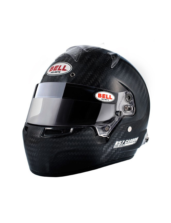 casque bell rs7 carbon avec clips hans gt2i. Black Bedroom Furniture Sets. Home Design Ideas