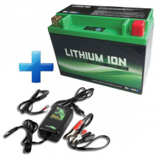 Pack of Battery Lithium 16A + Specific Charger