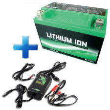 Pack Batteria Lithium 30A + Caricatore specifico