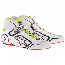Bottines Alpinestars Tech1-Z 16 Blanc/Noir/Jaune Pointure 45
