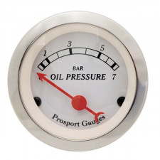Prosport Classic Oil Pressure Gage 52mm 0-100PSI with sensor