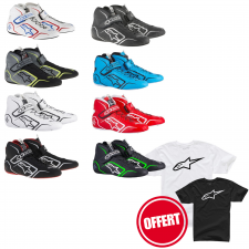 Bottines Alpinestars Tech1-Z + Tshirt Offert