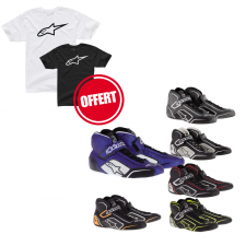 Bottines Alpinestars Tech1-T + Tshirt Offert