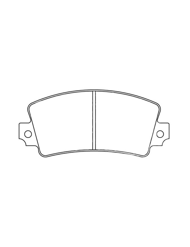 Brake pads CL Brakes RC6 ALPINE A110 1300 1.3 (73CV) from 74 to 75