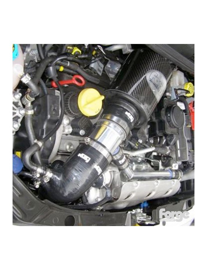 Forge Intake Hoses for Fiat 500 Abarth Blue