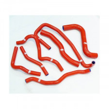 Kit Durites d'Eau Samco Ford Fiesta ST 1.6 rouge (7 Pièces)