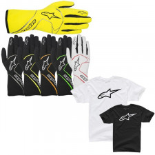 Gants Alpinestars Tech 1 Race + T-shirt Offert