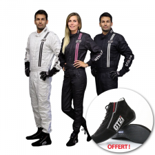 Combinaison FIA GT2i Race + Bottines GT2i by Sparco Offertes