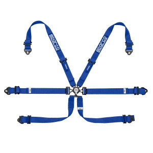 """Sparco 2"""" 6pts Steel FIA Hans Harness"""
