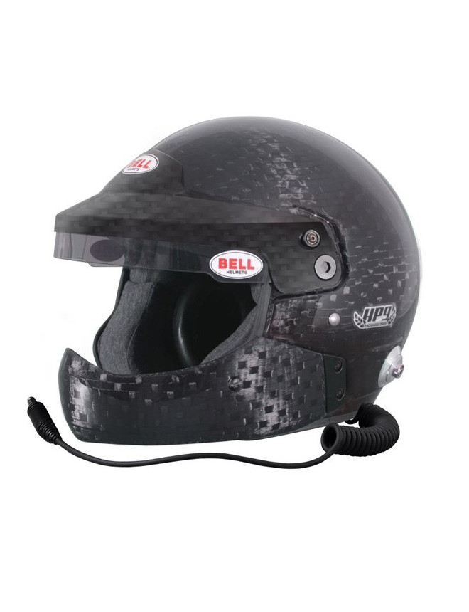 Bell HP9 CARBON RALLY Helmet and HANS clips