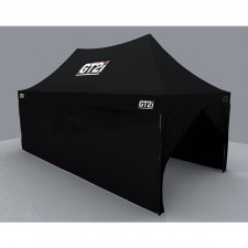 GT2i Race & Safety Black Walls for Tent 3M with Window (x1)