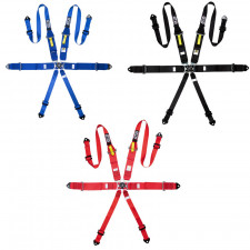 Pack 2 GT2i FIA 6 Points Race Harnesses