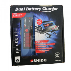Shido DC 3A Multi Batteries Charger