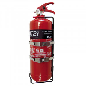 Steel hand-held Mechanical Fire Extinguisher 2Kg Powder