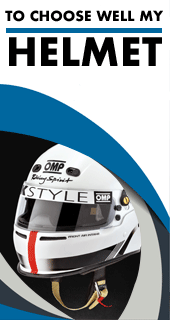Choose well your Karting helmet thanks to our size chart and approvals