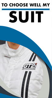 Choose well your FIA suit thanks to our size chart and approvals
