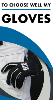 Choose well your FIA gloves thanks to our size chart and approvals