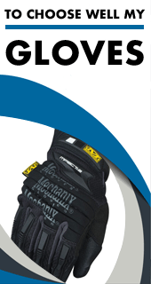 Choose well your Mechanic gloves thanks to our size chart and approvals